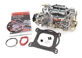 Edelbrock 1406 Performer 600 CFM Square Bore 4-Barrel Air Valve Secondary Electric Choke New Carburetor