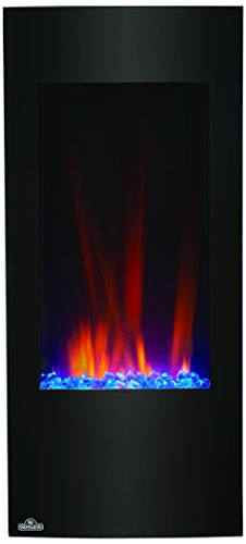 Napoleon NEFV38H Vertical Wall Mount Electric Fireplace, 38-Inch