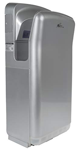 Royal Sovereign Hands-Free Commercial-Grade Hand Dryer | Touchless Vertical Automatic Sensor | Stainless Steel (RTHD-461SS)