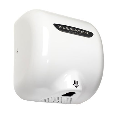 XLERATOR XL-W Automatic High Speed Hand Dryer with White Cover, 12.5 A, 110/120 V