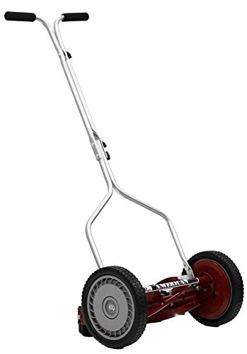 American Lawn Mower 1304-14 Economy Push Reel Mower with T-Style Handle and Heat Treated Blades