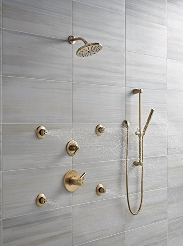 Delta Faucet 57085-CZ Grail, Hand Shower-Slide Bar, Champagne Bronze