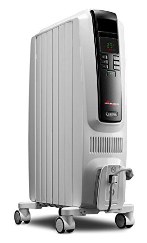 Delonghi TRD40615ECA Dragon Digital Full Room Radiant Heater, White