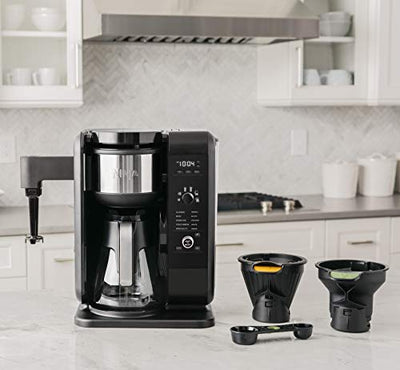 SharkNinja Hot and Cold Brewed System, Auto-iQ Tea and Coffee Maker with 6 Brew Sizes, 5 Brew Styles, Coffee/Tea Baskets
