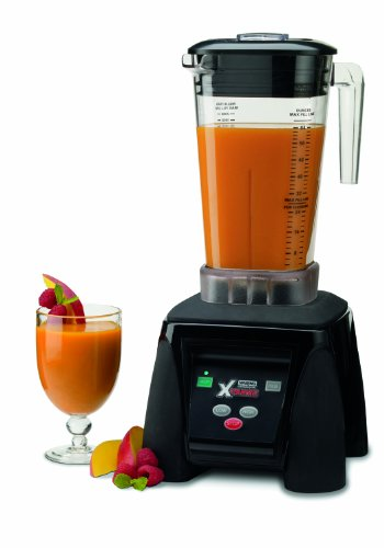 Waring Commercial MX1050XTX Xtreme Hi-Power Electronic Keypad Blender with Raptor Copolyester Container, 64-Ounce