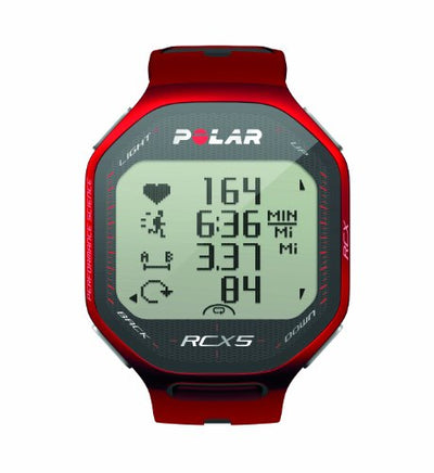 Polar RCX5 SD Heart Rate Monitor (Red)
