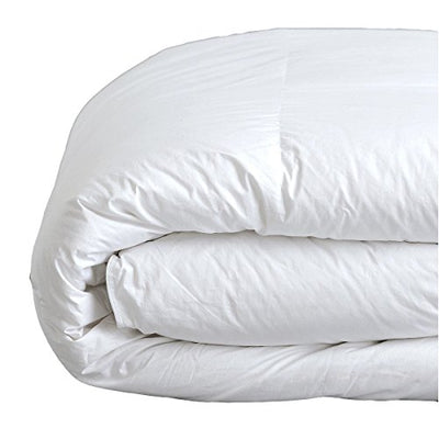 Down Under Filled in Canada Jasper 850 Loft Hutterite White Goose Down Duvet Double Full Size 25oz