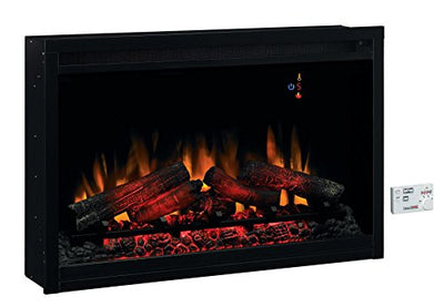 "ClassicFlame 36EB110-GRT 36"" Traditional Built-in Electric Fireplace Insert, 120 volt"