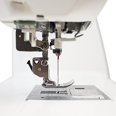 Janome Sewing Machine mod MC8200 For Quilting 11 Inch Long-Arm with Advanced AcuFeed Walking-Foot feeding system flawless Quilting Made to last with an Industrial Grade Cast Aluminum Body