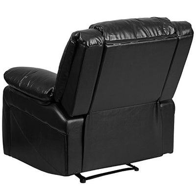 Flash Furniture BT-70597-1-GG Harmony Series Black Leather Recliner