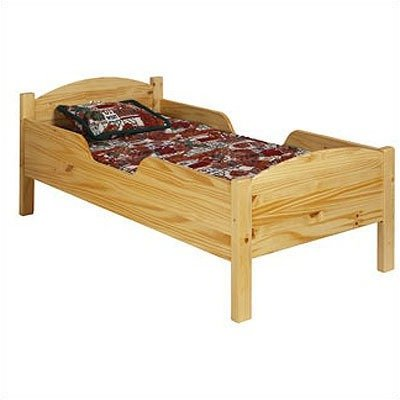 Little Colorado 088HONC Traditional Toddler Bed, Honey Oak