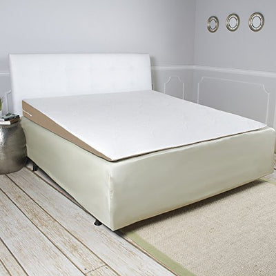 Avana Inclined Memory Foam Mattress Topper Wedge, King-Size Bed, 32-Pound