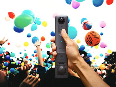 Ricoh Theta V camera, Metallic Gray