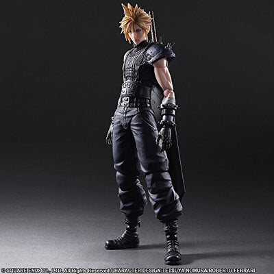 Final Fantasy VII Remake Cloud Strife Play Arts Kai Action Figure