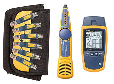 Fluke Networks MS2-Kit Network Cable Tester Kit with Probe