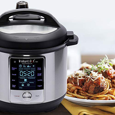 Instant Pot Max 9-in-1 Electric Pressure Cooker, Rice Cooker,Saute,Yogurt Maker & Warmer|6 Quart|8 One-Touch Programs