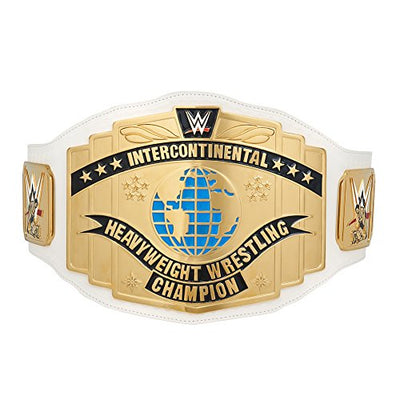 WWE White Intercontinental Championship Commemorative Title Belt (2014) white