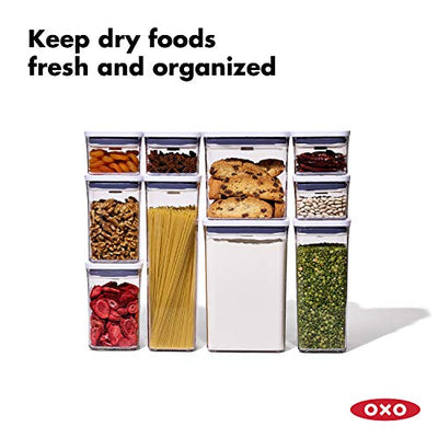 OXO 11236000 Good Grips 10 Piece POP Container Set, White