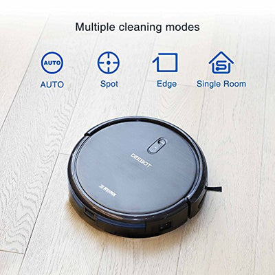 ECOVACS DEEBOT N79 Robotic Vacuum Cleaner with APP Control, Automatic, for Low-pile Carpet, Hard floor, Cleaning Robot, Smartphone Connected