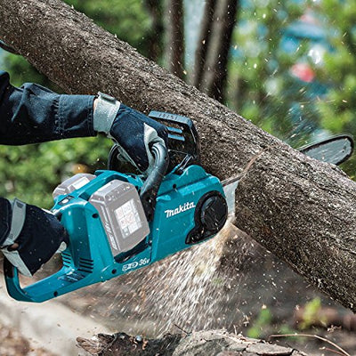 "Makita XCU03Z 18V X2 LXT Lithium-Ion (36V) Brushless Cordless 14"" Chain Saw, Tool Only"