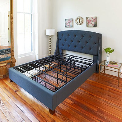 Classic Brands Hercules Heavy-Duty Adjustable Platform 14-Inch Metal Bed Frame | Mattress Foundation or Box Spring, King