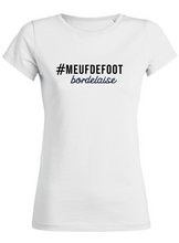 "Tshirt ""Meuf de Foot"" supportrice"