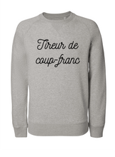 Sweat Tireur de coup-franc gris
