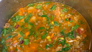 Minestrone Soup with Beef