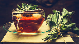 Sage Tea for Colds and Flu