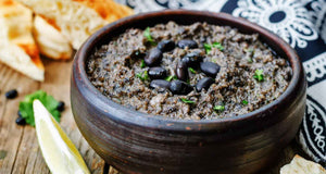 flex health and wellness recipes black bean hummus