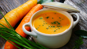 Butternut Squash, Carrot and Apple Soup
