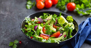 flex health and wellness recipes spicy arugula and sprout salad
