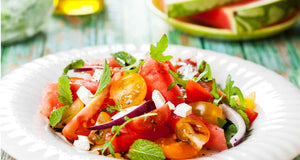 flex health and wellness watermelon and feta salad healthy recipes