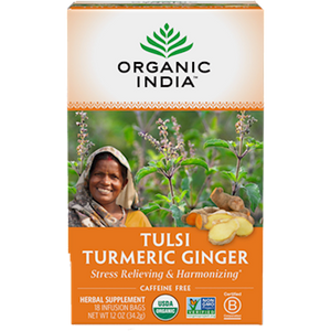 Organic India Tulsi Turmeric Ginger Tea