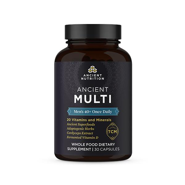 Ancient Nutrition Men's 40+ Once Daily