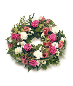 Pretty Pink Wreath