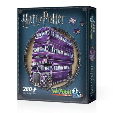 Harry Potter The Knight Bus 3D Puzzle - Accio This