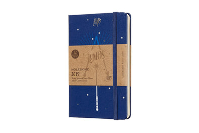 Harry Potter Moleskine Harry Potter Lumos Pocket Daily Planner - Accio This