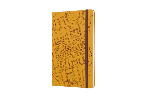 Harry Potter Moleskine Harry Potter 12M Weekly Marauder's Map Planner - Accio This