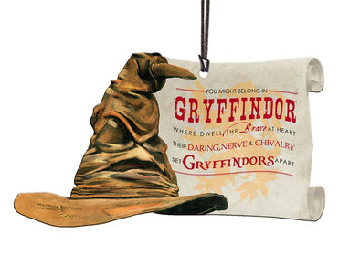 Harry Potter Sorting Hat Gryffindor Hanging Acrylic Print - Accio This