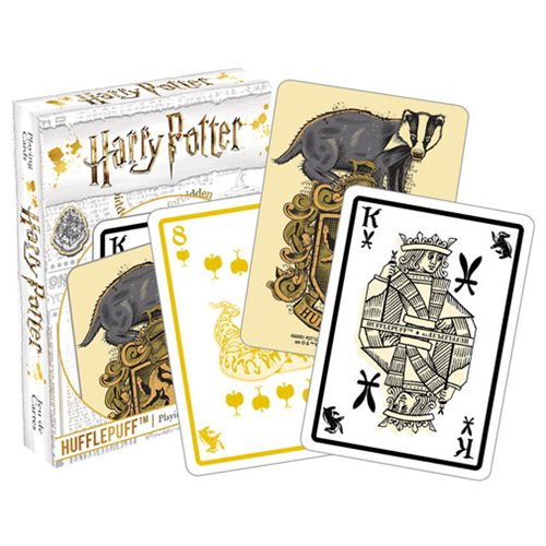 Harry Potter Hufflepuff Playing Cards - Accio This