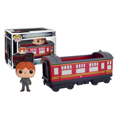 Harry Potter Hogwarts Express Vehicle with Ron Figure - Accio This