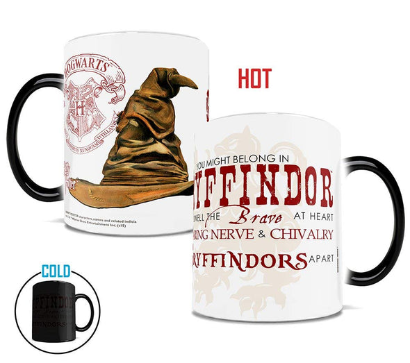 Harry Potter Sorting Hat Gryffindor Morphing Mug - Accio This