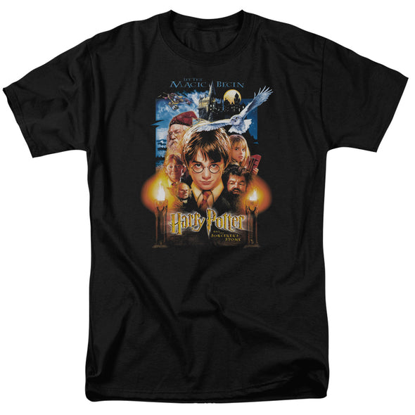 Harry Potter Harry Potter Movie Poster Short Sleeve Shirt - Accio This