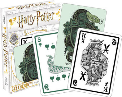 Harry Potter Slytherin Playing Cards - Accio This