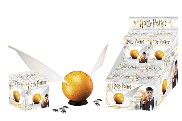 Harry Potter Harry Potter 3D Golden Snitch Puzzle - Accio This