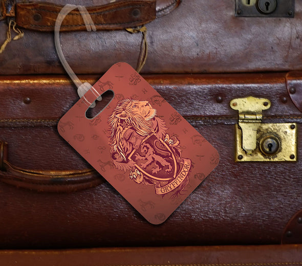 Harry Potter Gryffindor Luggage Tag - Accio This
