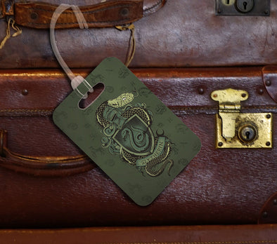 Harry Potter Slytherin Luggage Tag - Accio This