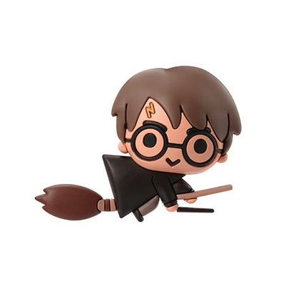 Harry Potter Harry Potter with Broom 3D Foam Magnet - Accio This