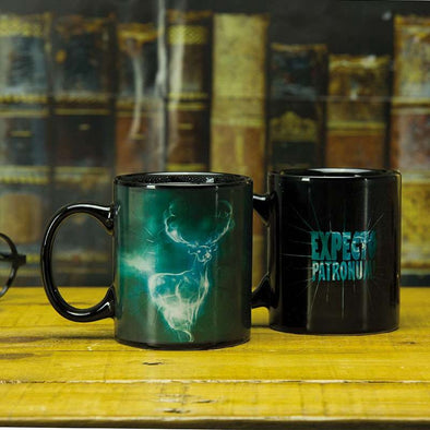 Harry Potter Patronus Heat Changing Mug - Accio This